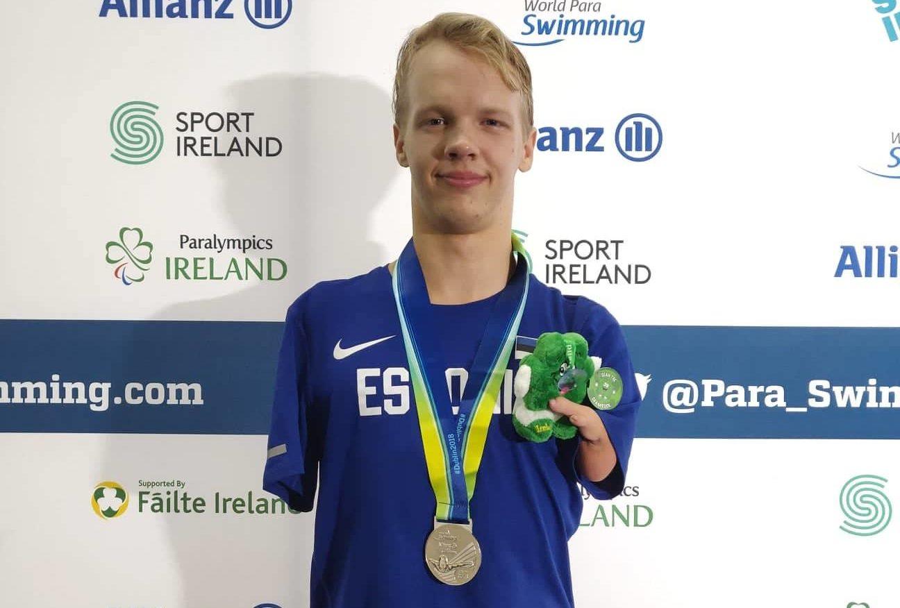Palju õnne! Matz Topkin võitis paraujumise Euroopa meistrivõistlustel hõbemedali