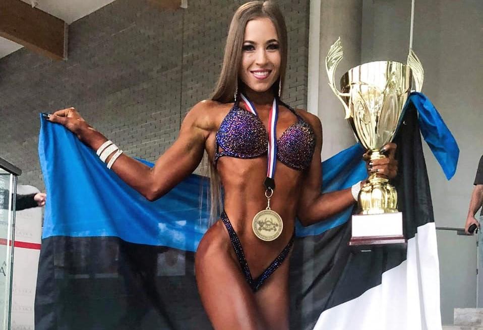 Palju õnne! Arida Muru sai fitnessi MM-il kuldmedali