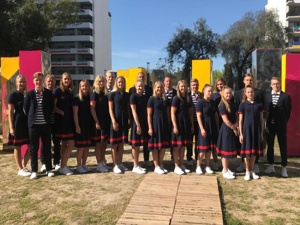 Pöidlad pihku! Noorte olümpiamängude avapäeval on võistlustules Eesti korvpallurid, ujujad ja sõudja