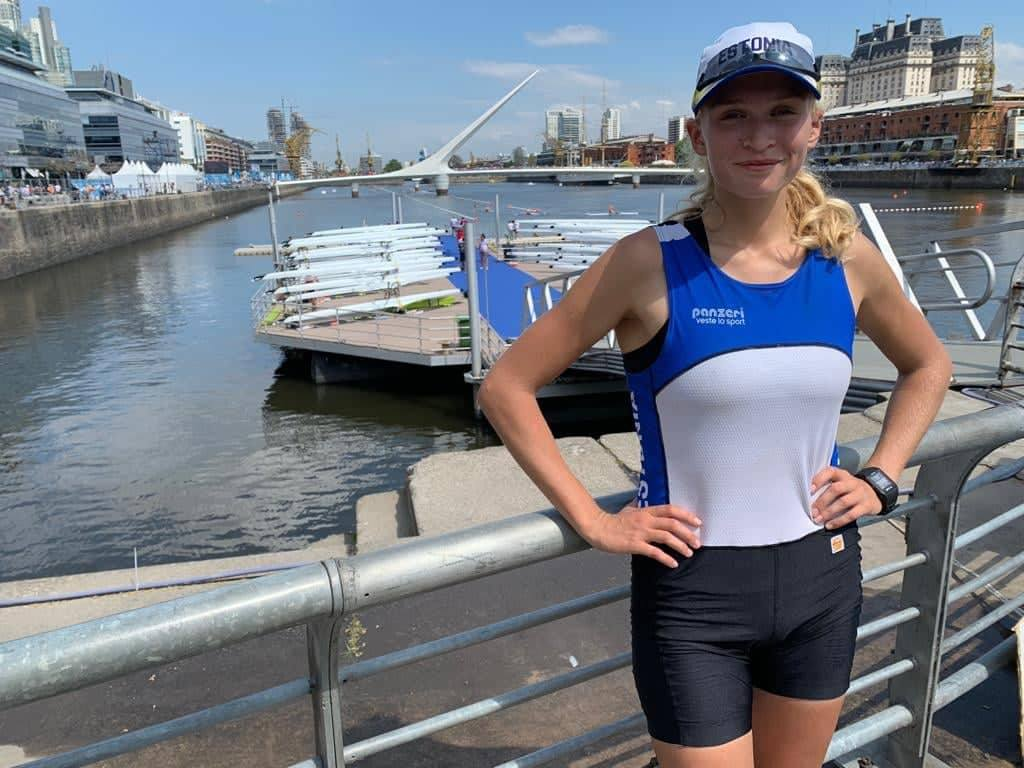 Greta Jaanson pääses täna noorte OM-il edasi 16 parema hulka
