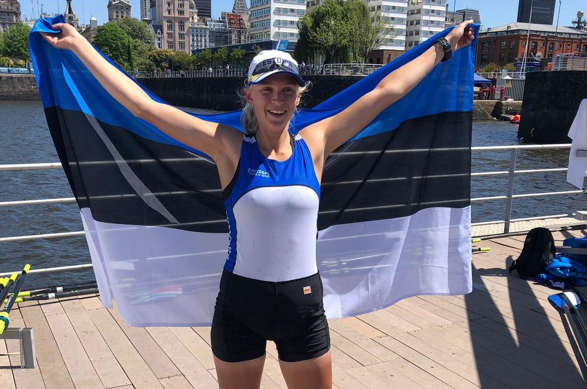 MEDAL KOJU! Greta Jaanson võitis noorte olümpiamängudel pronksmedali