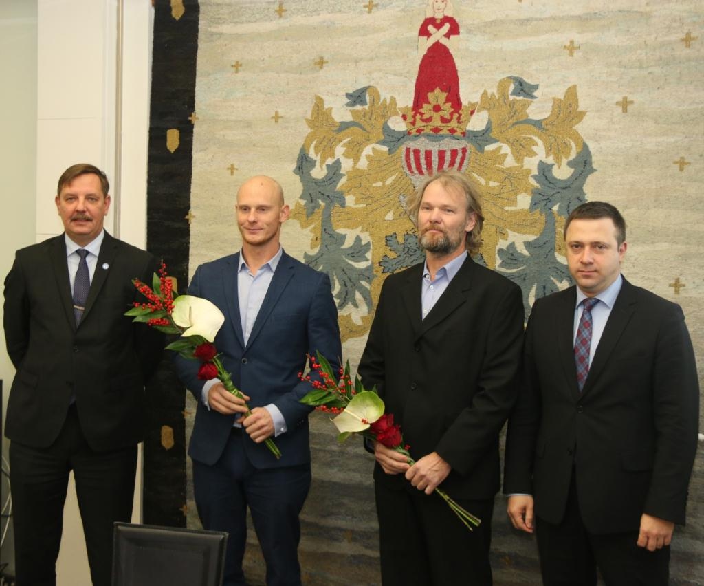 Tunnustus! Tallinn tunnustab veemotosportlast ja tema treenerit