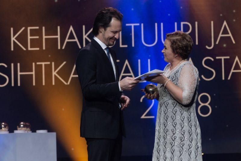 FOTOD! EV100 Spordiaasta Tähed 2018 auhinnagalal anti üle Kultuurkapitali kehakultuuri- ja spordi sihtkapitali aastapreemiad