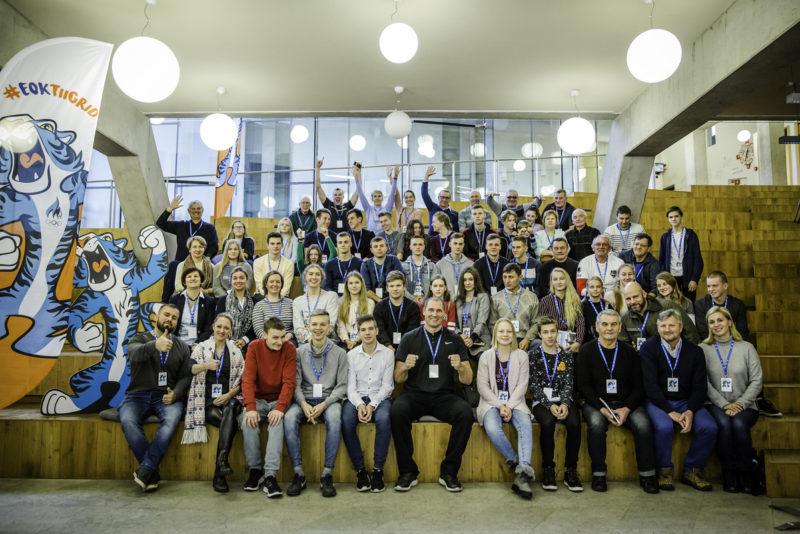 """Narvas toimus Ida-Virumaa noorsportlaste ja -treenerite inspiratsioonipäev """"Lase tiiger välja!"""""""
