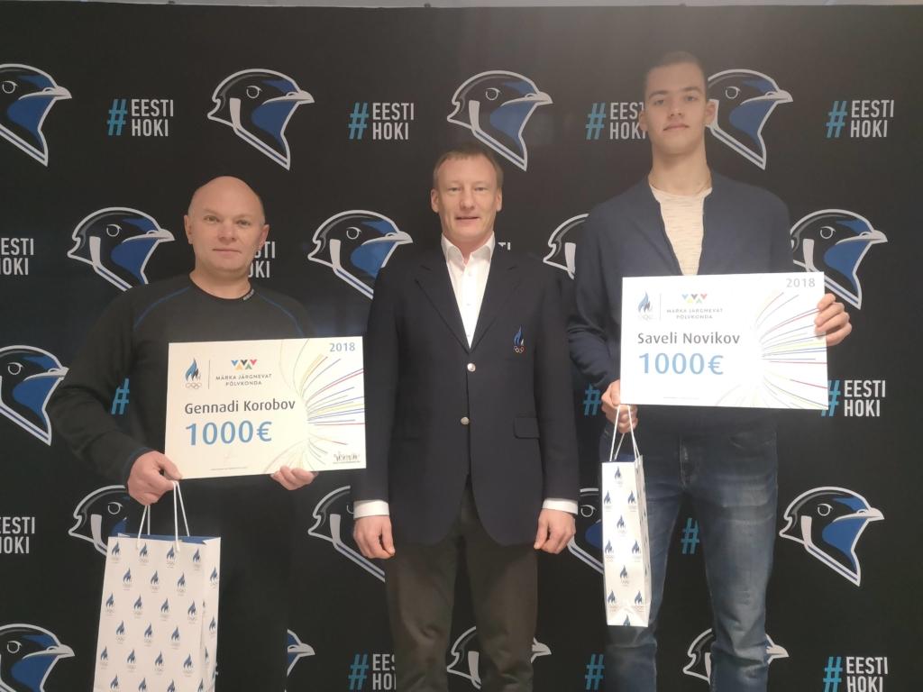 "Saveli Novikov ja Rauno Sappinen said ""Märka järgnevat põlvkonda"" stipendiumi"