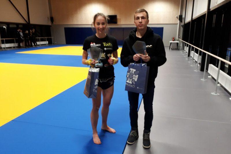 PALJU ÕNNE! Sisekaitseakadeemia aasta parimad sportlased on Andra Aho ja Semjon Karhanin
