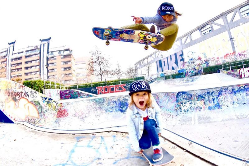 VIDEO! Imetlusväärne! Vaid 10-aastane Jaapani olümpialootus ja profirulataja võistleb Simple Sessionil