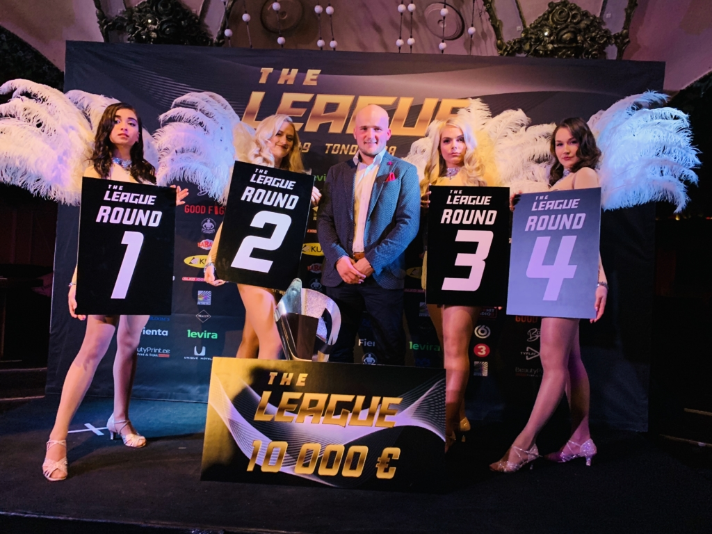 The League peakorraldaja – Kevin Renno
