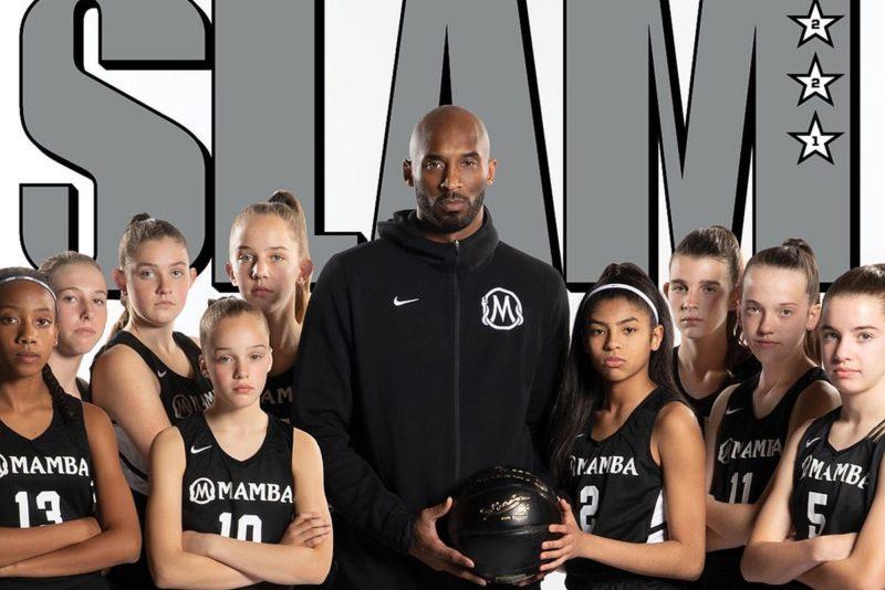 Kobe Bryant treenib tütart