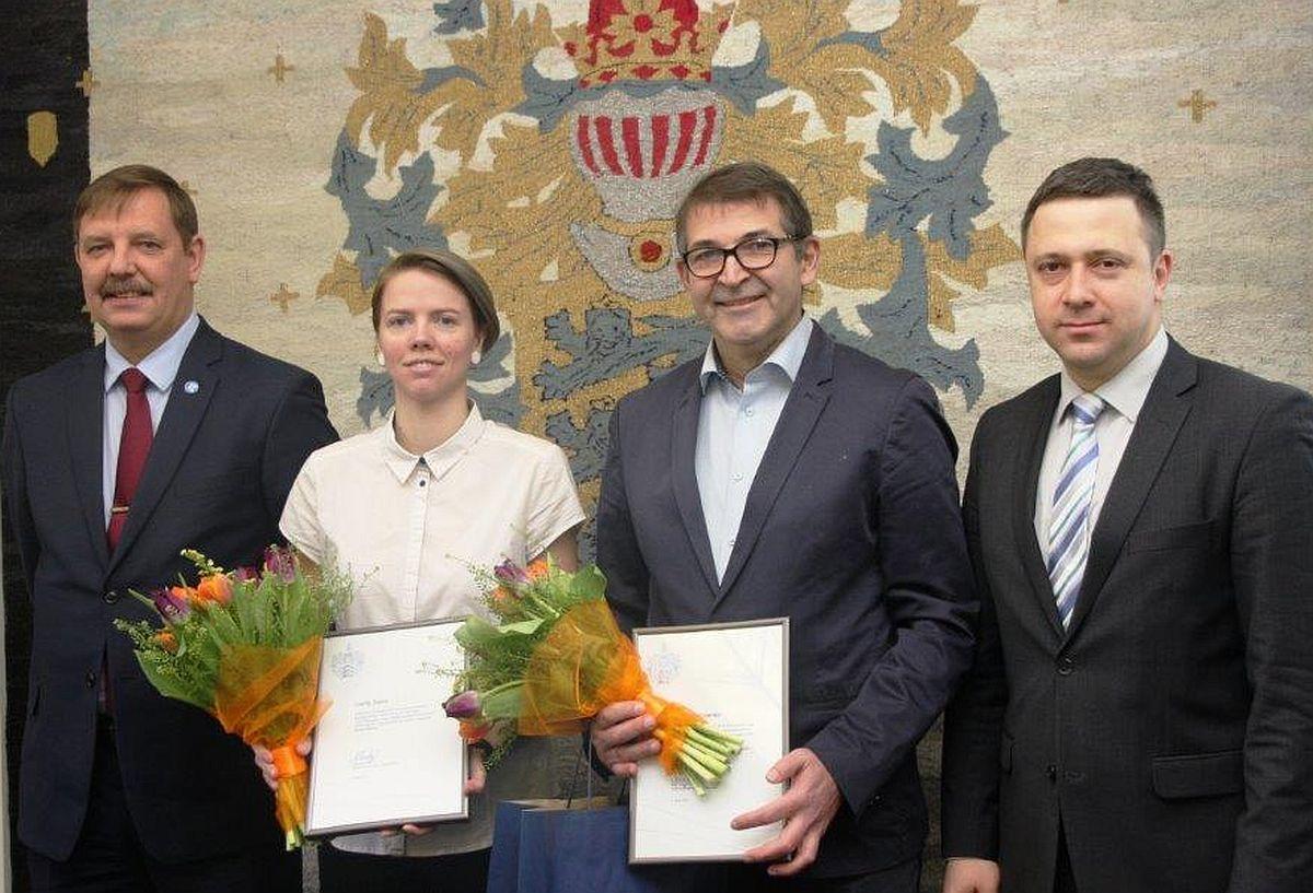 Tallinn tänas viievõistlejat Cathy Saemi