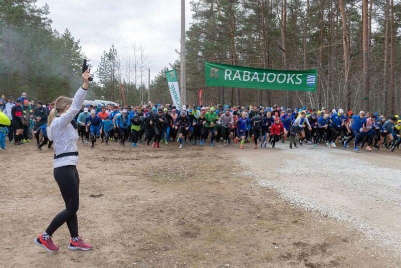 Rabajooksu võitsid Raido Mitt ja Laura Maasik!