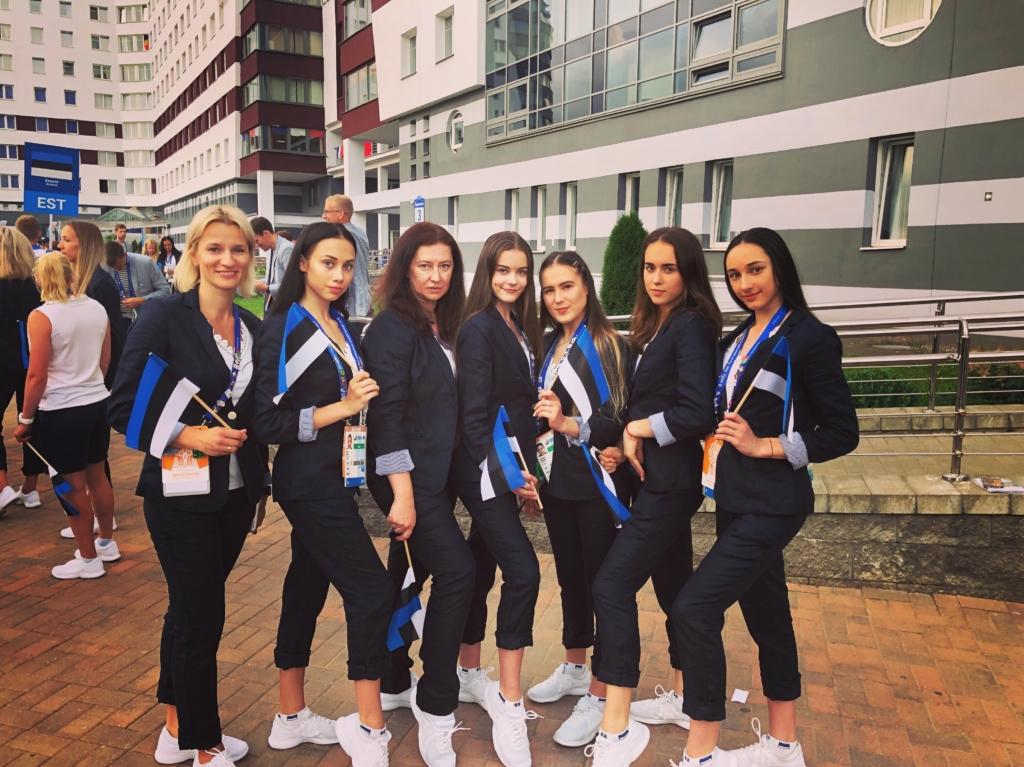 Eesti iluvõimlemise võistkond sai Euroopa Mängudel pallikavas viienda koha