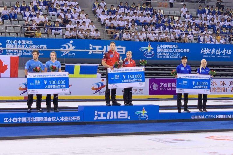 Eesti kurlingupaar võitis Hiinas 7500 eurot