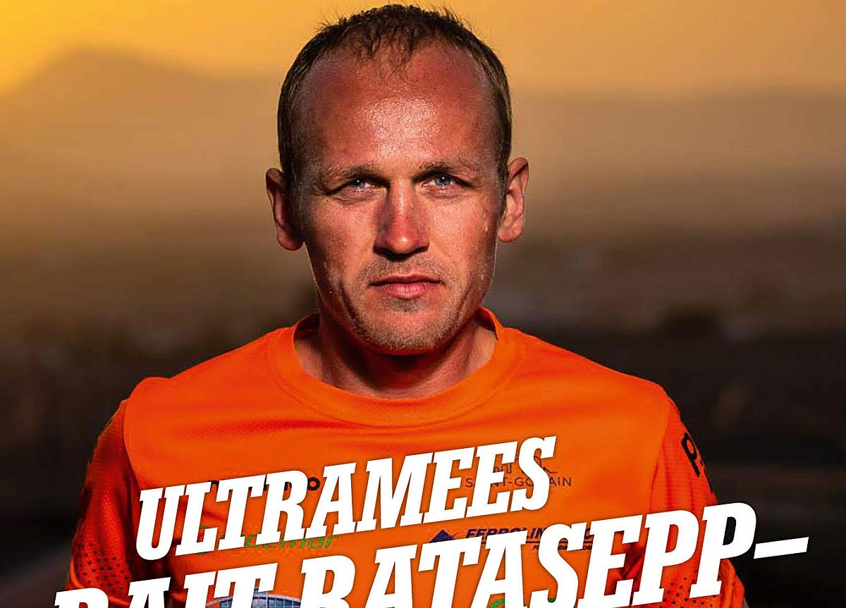 Ultramees Rait Ratasepast üllitatakse raamat