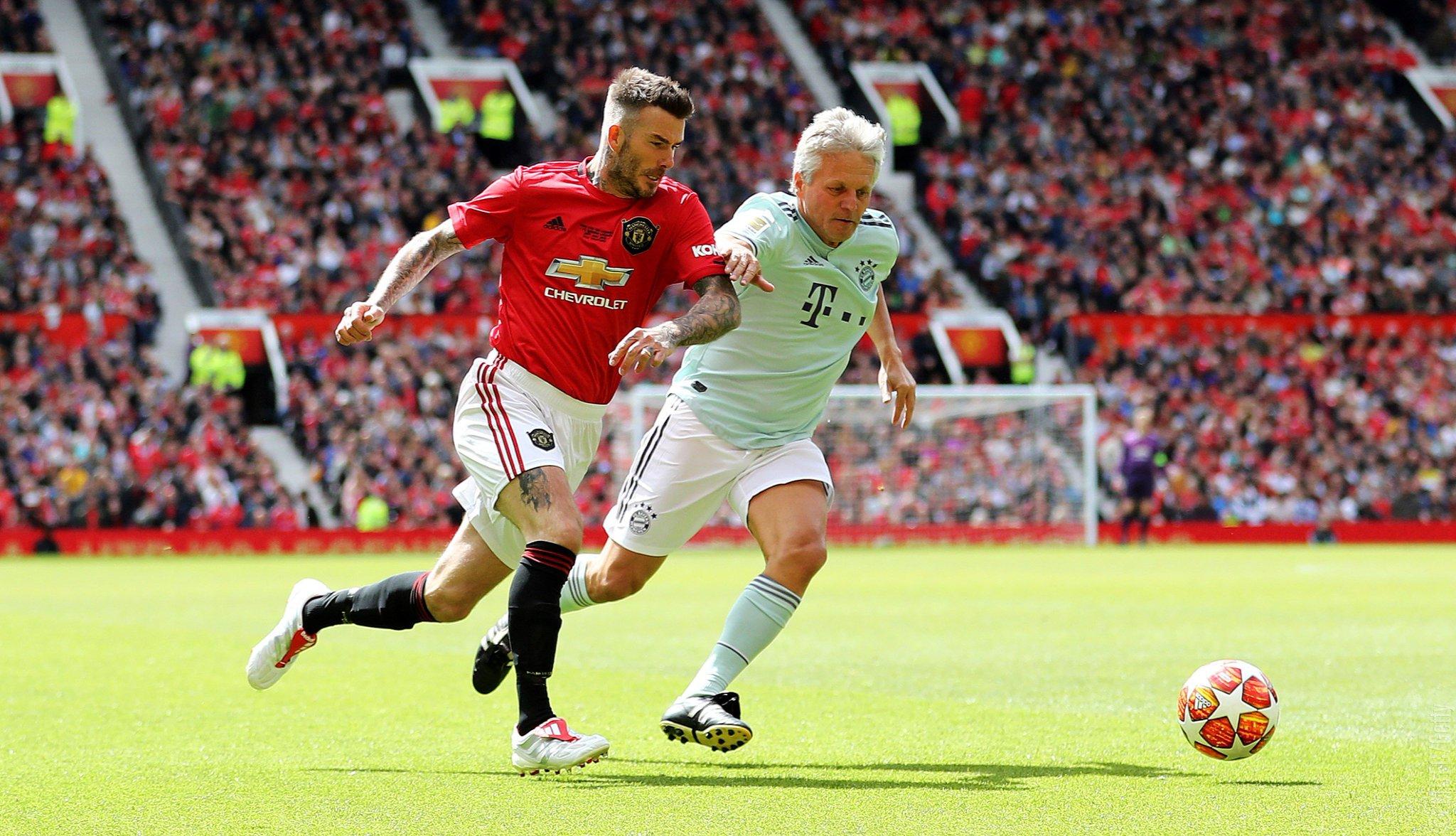 Müncheni ja Manchesteri legendid mängisid jalgpalli