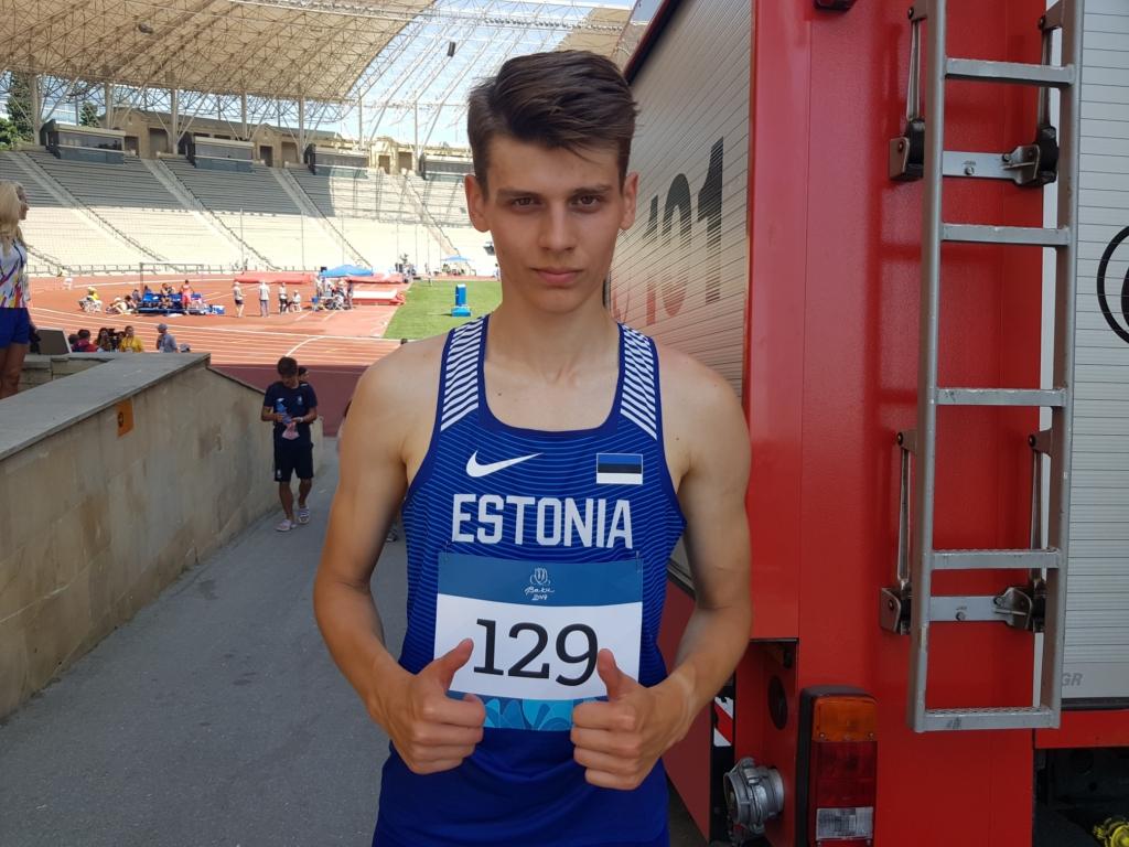 Eesti kergejõustiklased panid Euroopa noorte olümpiafestivalile punkti
