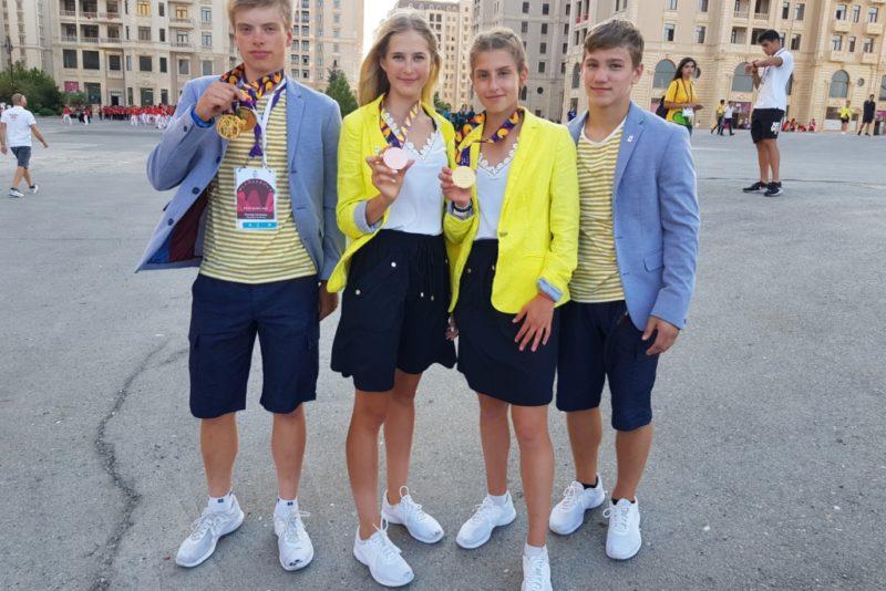 Euroopa noorte olümpiafestivalil jõudis Eesti medalitabelis esimesse kolmandikku