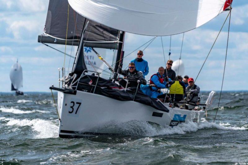 VIDEO: Eesti sai purjetamise EM-il kolmikvõidu