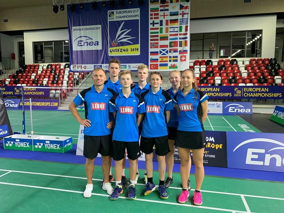 VIDEO! Eesti U17 koondis alustas sulgpalli EM-i võiduga Walesi üle