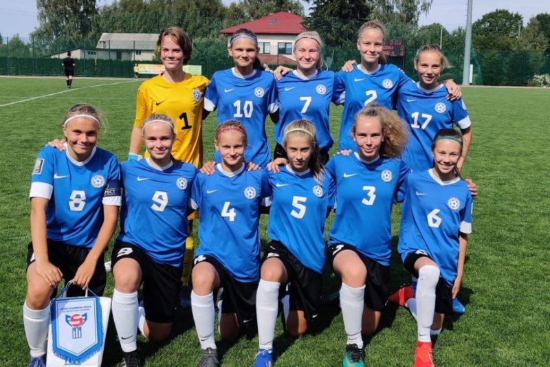 Neidude U15 jalgpallikoondis alistas Fääri saared