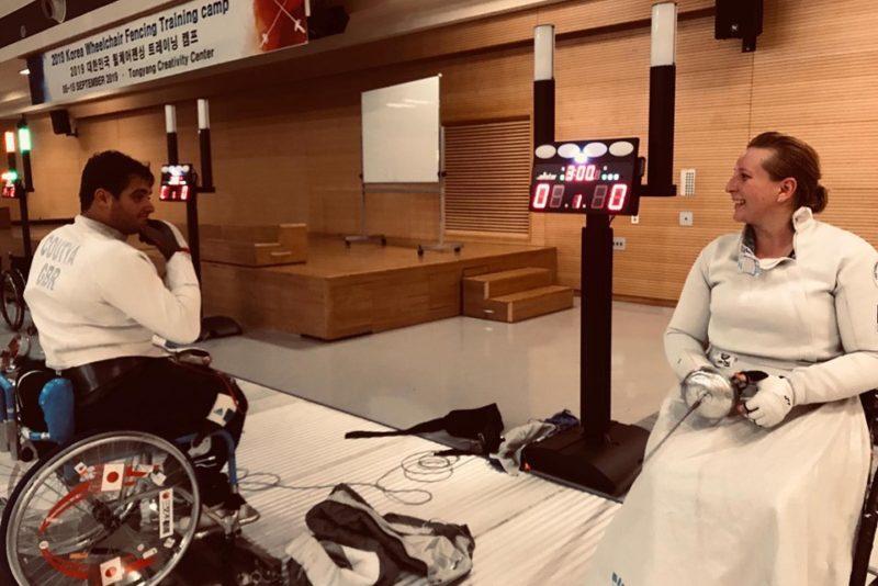 PÖIDLAD PIHKU I Eesti ainus naisratastoolivehkleja läheb MM-ile paraolümpiamängude kohta püüdma