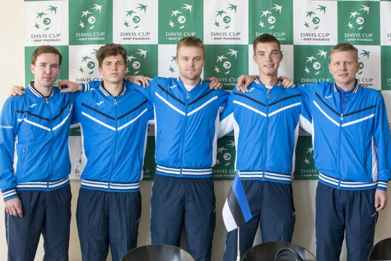Eesti pääses Davis Cupi üleminekumängudele