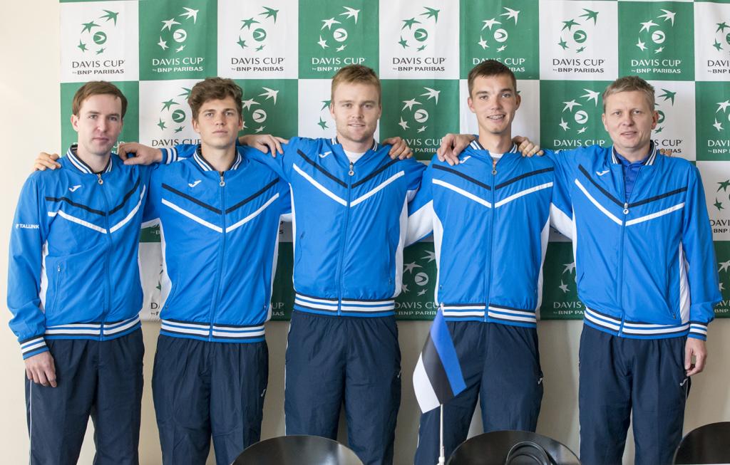 eesti tennisemeeskond
