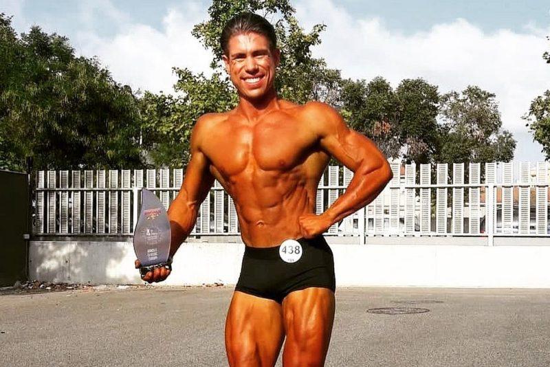 Egert Oiov oli tubli Schwarzeneggeri võistlusel