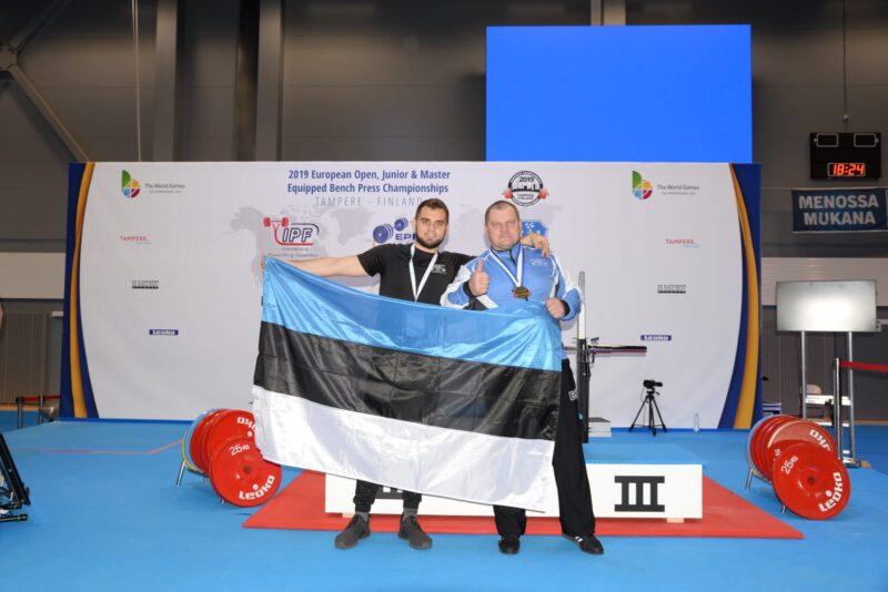 VÄGEV! Kaido Leesmann tuli Euroopa meistriks maailmarekordiga