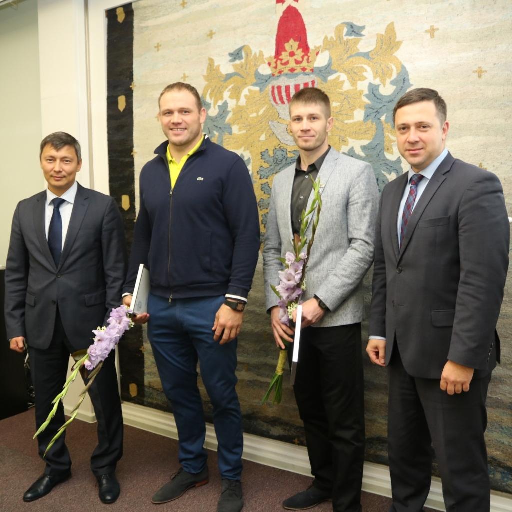 Tallinn tunnustab tiitlivõistlustel edukalt võistelnud sportlasi