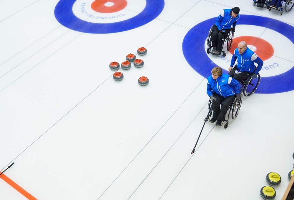 Eesti ratastoolikurlingu tiim võitis rahvusvahelise turniiri