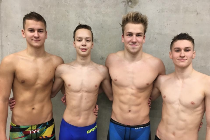 Rekorditesadu Eesti juunioride ja noorte ujumise meistrivõistlustel