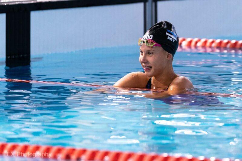 Laura-Liis Valdmaa püstitas Eesti juunioride rekordi seliliujumises