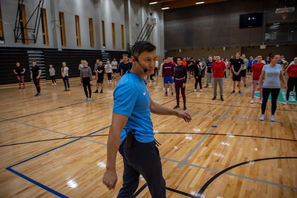 Spordihommik tõi pealinna spordikeskustesse ligi 500 tervisesportlast