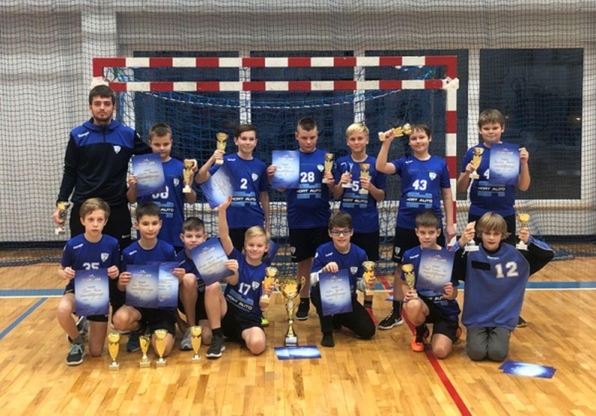 Käsipalliakadeemia poisid võitsid Eesti karika