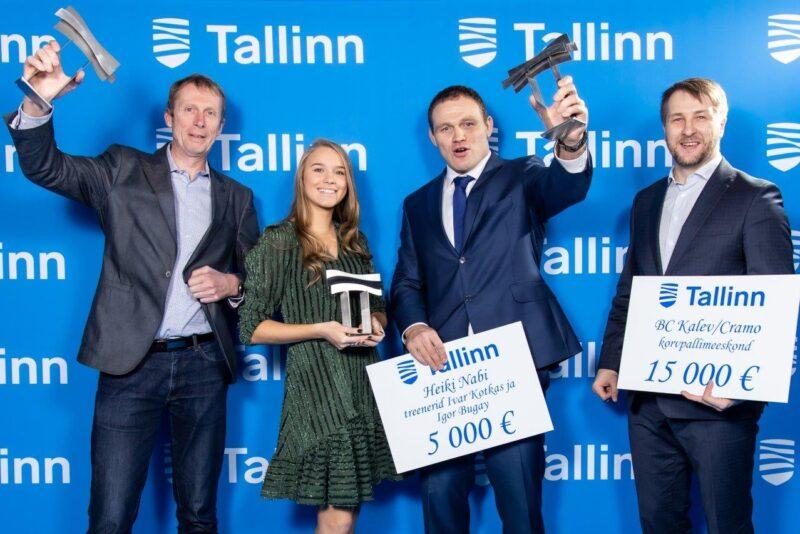 Tallinna aasta sportlased on Anett Kontaveit ja Heiki Nabi