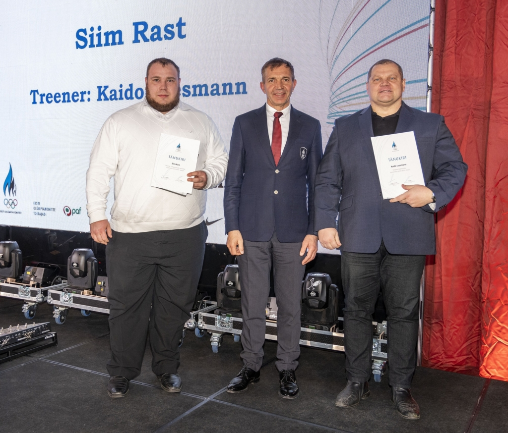 EOK tunnustas medalivõitjaid: tõesti kõva saavutus ühe väikese maa kohta!