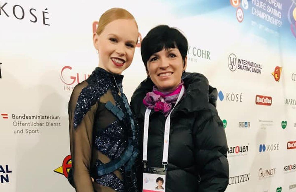 Eva-Lotta Kiibus ja Anna Levandi