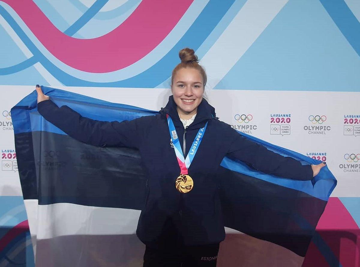 Kelly Sildaru medaliga