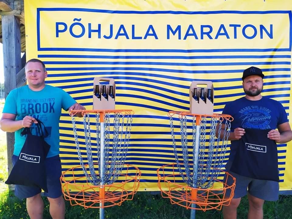 Keila 100. Maratoni võitjad Ronald Rotenberg ja Taavi Lillemäe