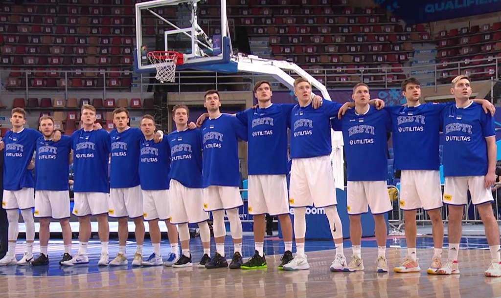 Eesti korvpallikoondis.TV3