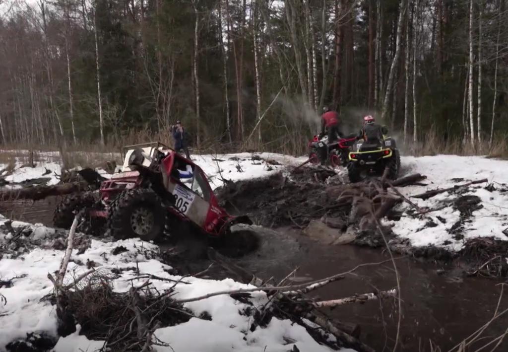 VIDEO I Maasturid võistlesid nii lumes kui mudas