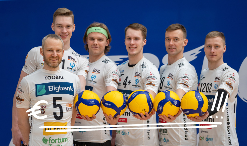 GOODNEWS KIIDAB I Bigbank toetab Tartu võrkpalliklubi 500 000 euroga