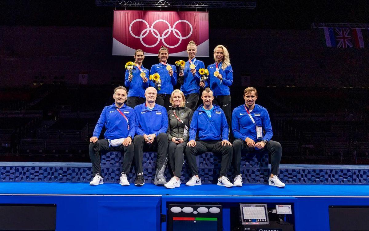 Tallinn ja Tartu premeerivad olümpiavõiduga naasvaid vehklejaid