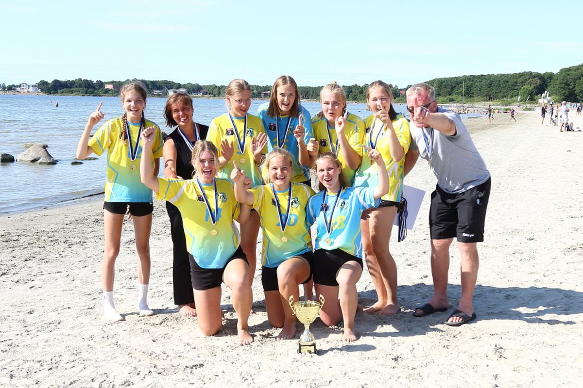 Haabneemel selgusid Eesti rannakäsipalli meistrid