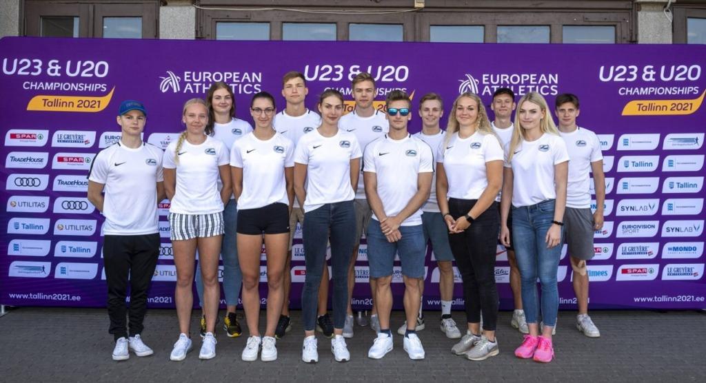 Täna algab Eestis U20 kergejõustiku EM