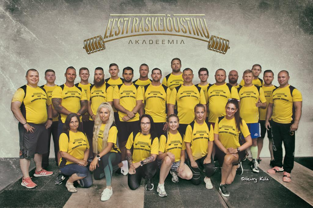 Kaido Leesmann avas Eesti Raskejõustiku Akadeemia