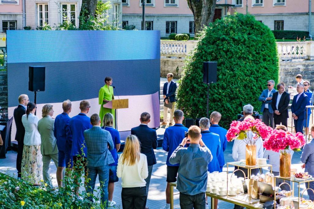 SPORDIKANGELASED I President Kersti Kaljulaid: kõik olümpiale välja murdnud sportlased on kangelased