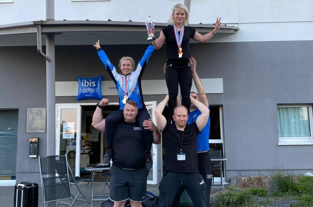 Eesti naisjõutõstjad said kaks kulda Lääne-Euroopa meistrivõistlustel 1_2