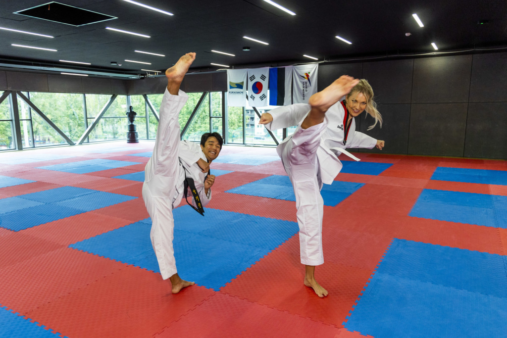 Liikumine annab energiasüsti: Keili Sükijainen õppis taekwondod